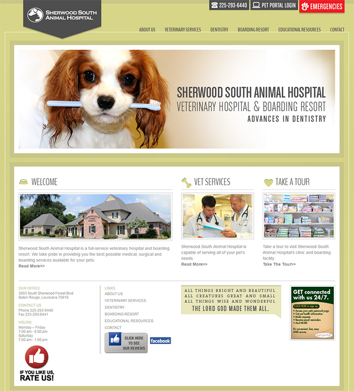 sherwood animal hospital