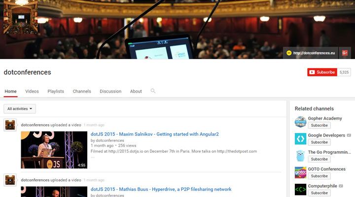 dotconferences on youtube