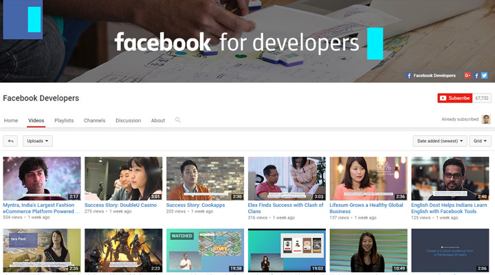 facebook developers conference youtube