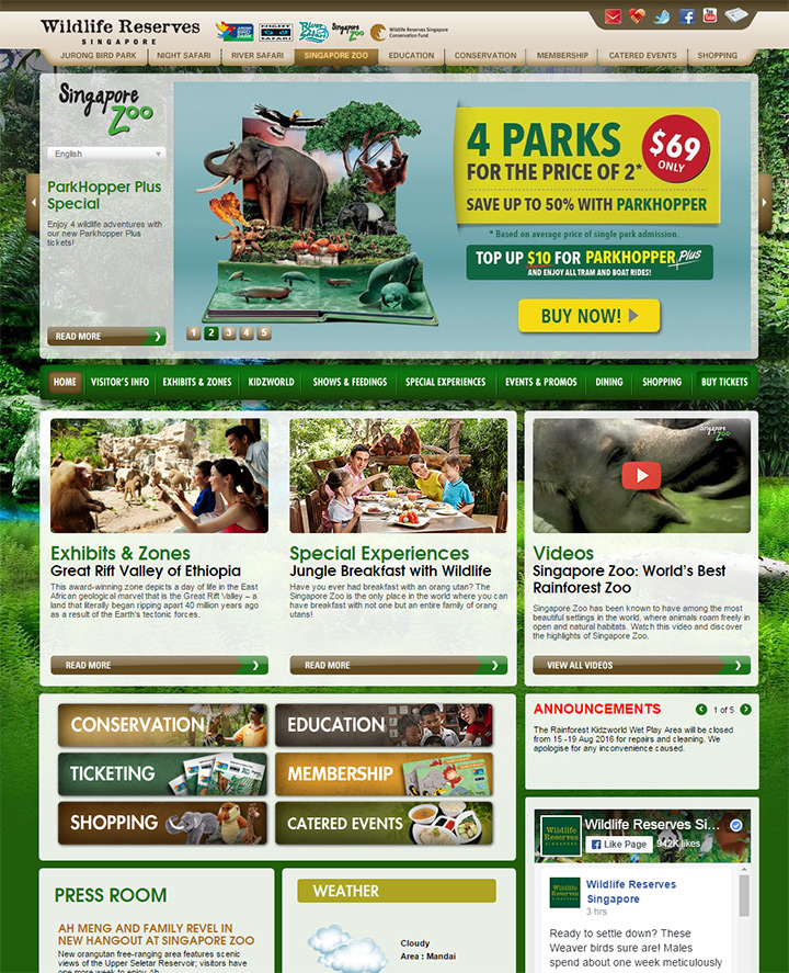 sg singapore zoo