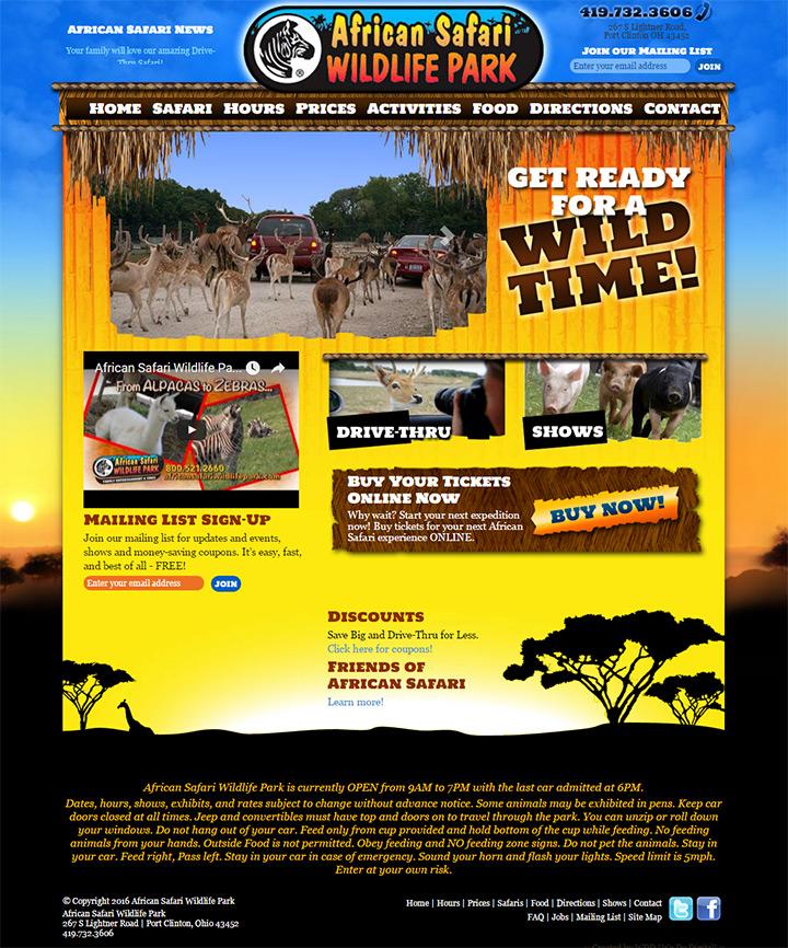 african safari park
