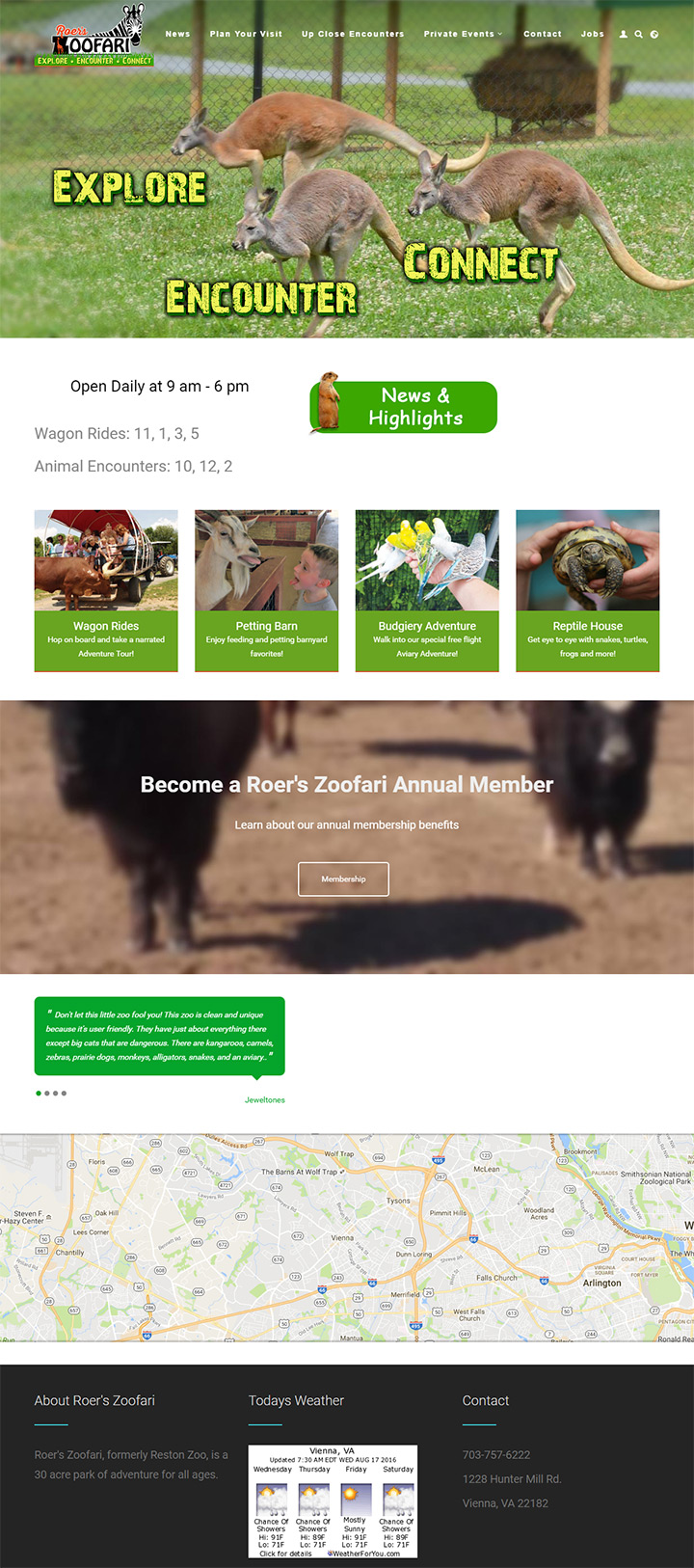 roer zoofari