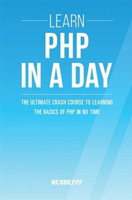 learn php one day