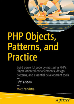 php objects patterns practices