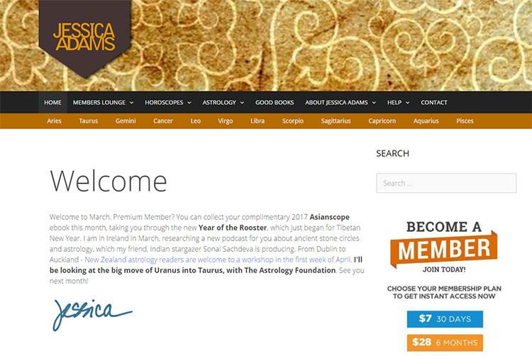 100+ Astrology & Psychic Websites For Design Inspiration