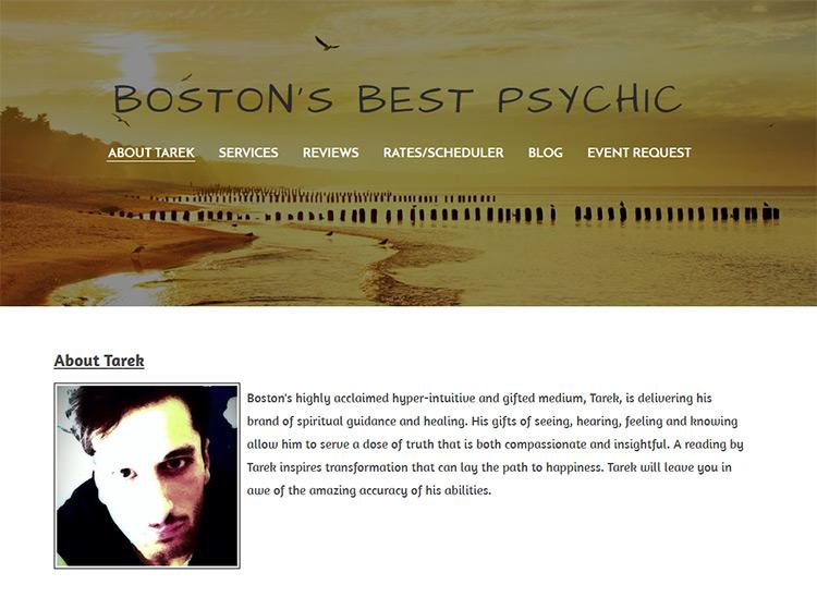 tarek boston psychic