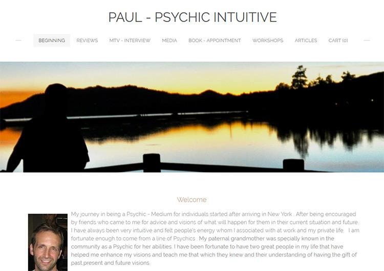 paul psychic