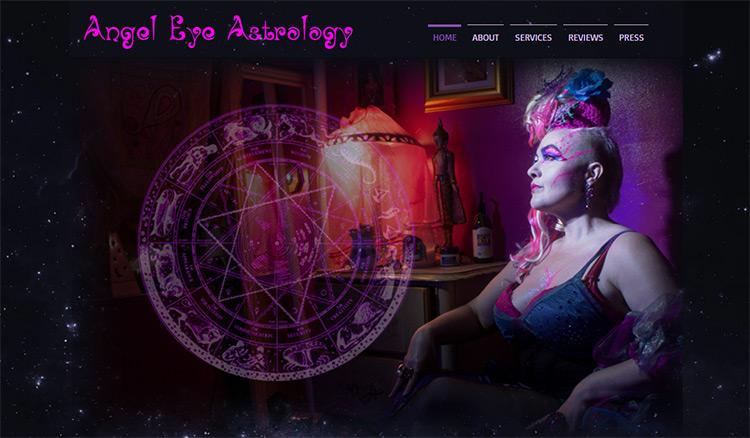 angel eye astrology
