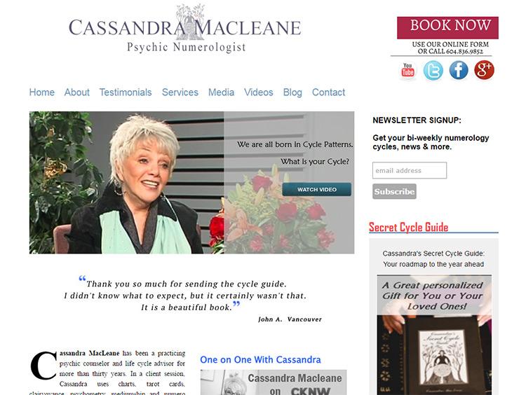 cassandra macleane