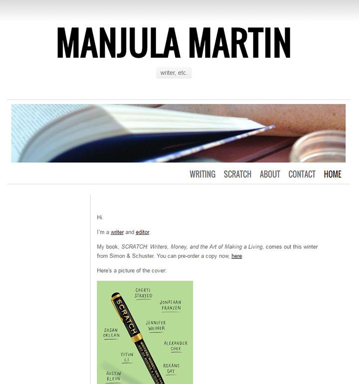 manjula martin
