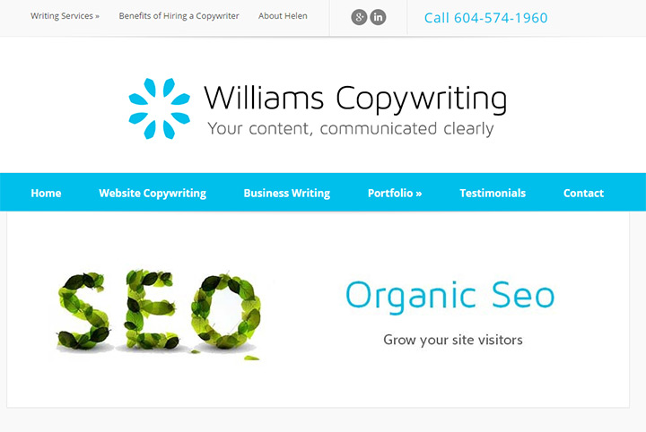 williams copywriting