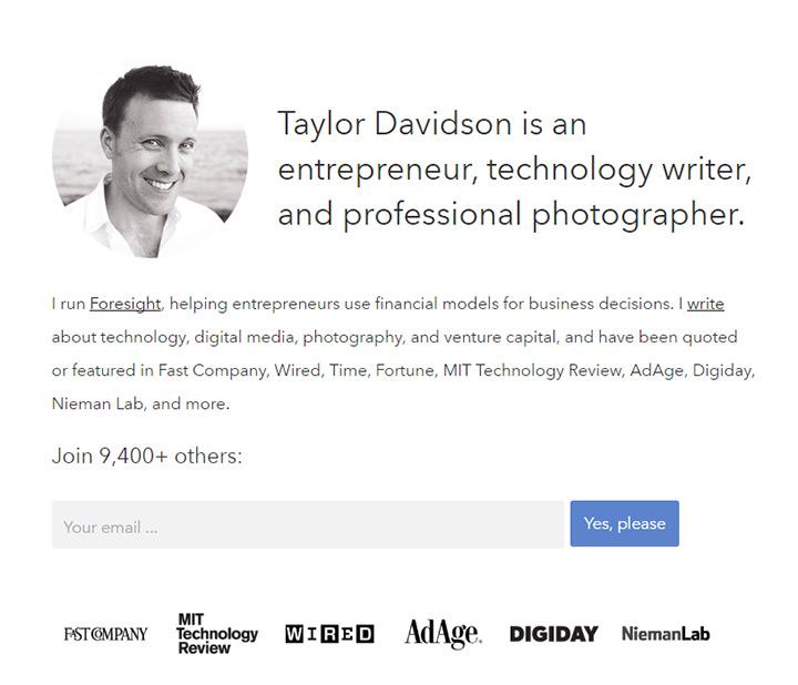taylor davidson