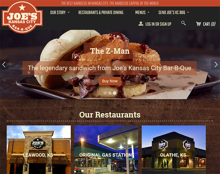 100+ Bar & Grill BBQ Restaurant Websites