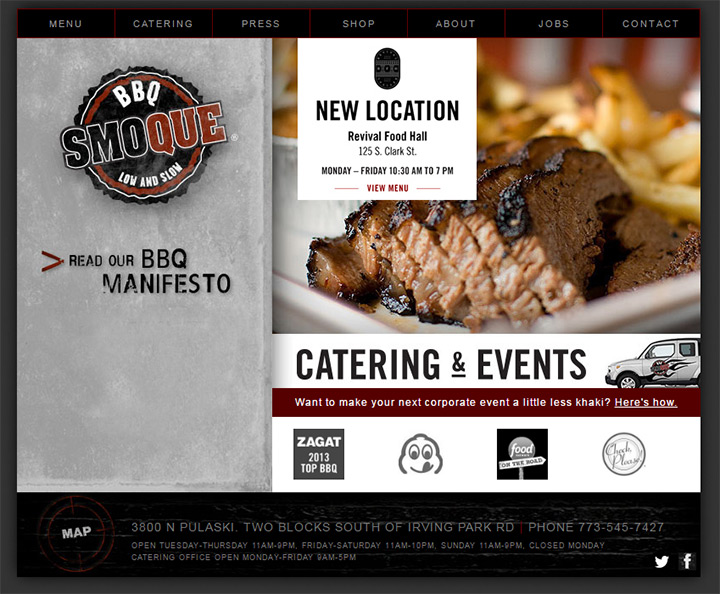 smoque bbq restaurant