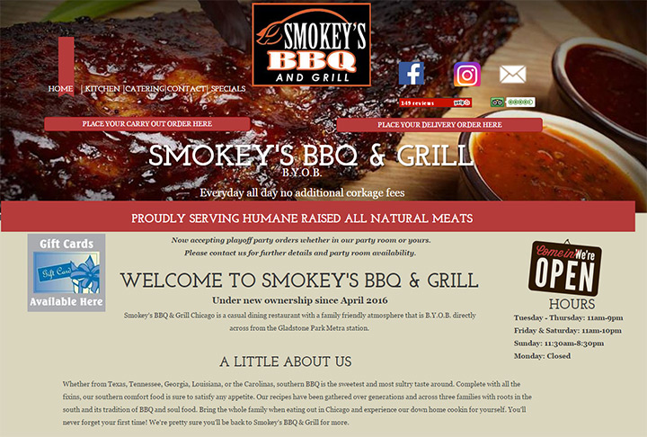 smokeys bbq and grill