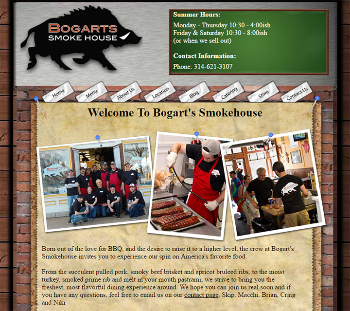 bogarts smokehouse
