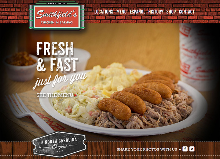 smithfields chicken bbq