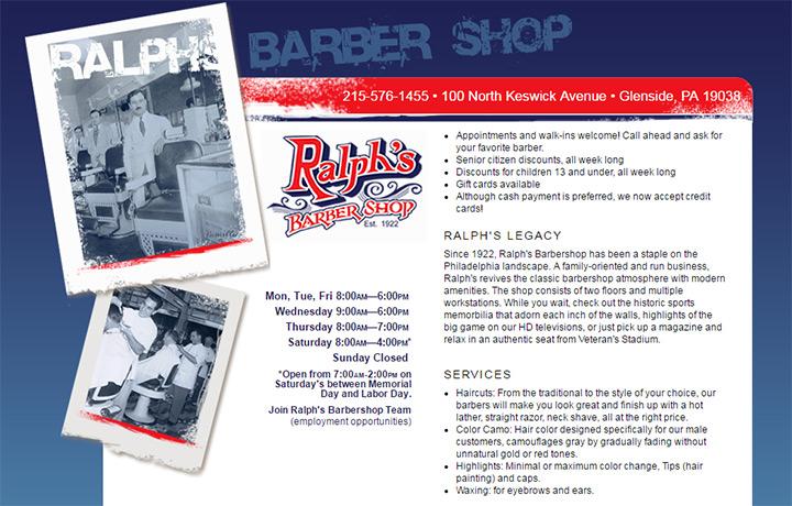 ralphs barber shop