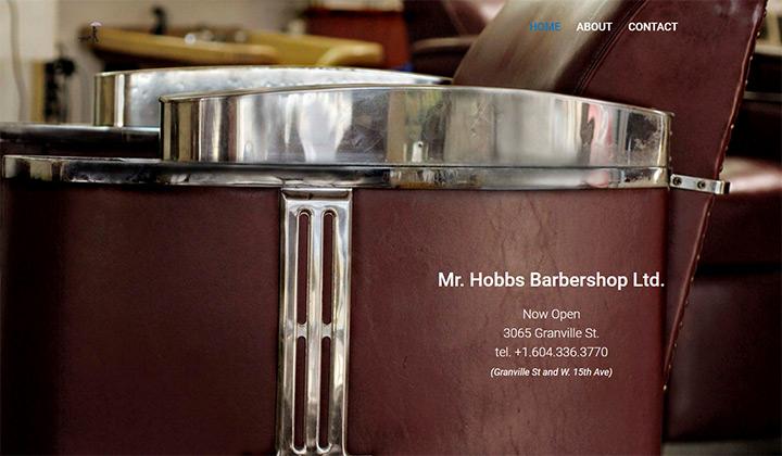 barber mr hobbs