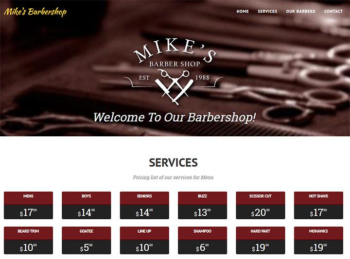 mikes barbershop