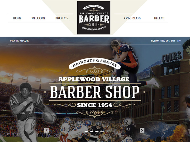 barbers of the village of apple tree