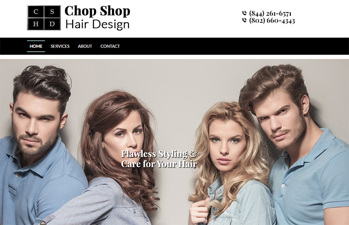 chop shop hair salon