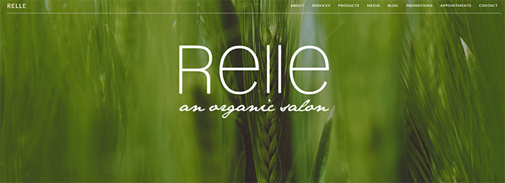relle organic salon