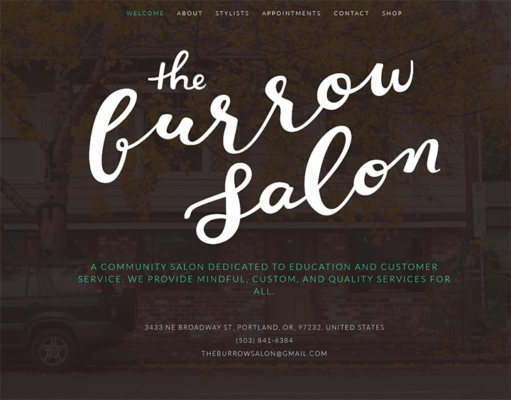 the burrow salon