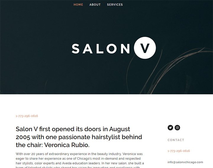 salon v chicago