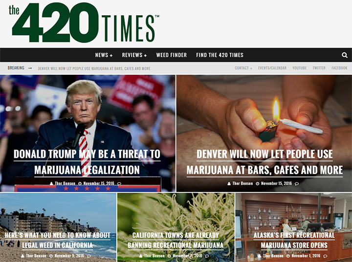 the 420 times blog