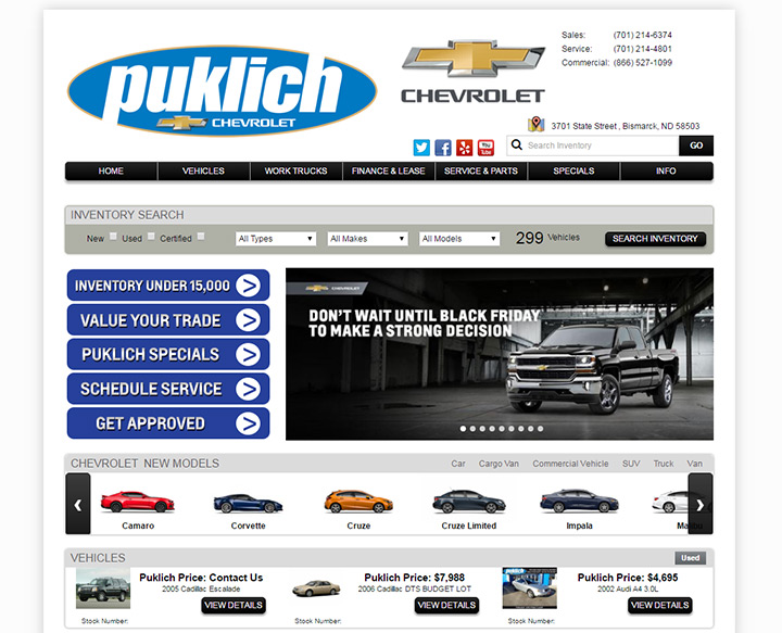 Ray Skillman Chevy >> 100+ Best Car Dealership Website Designs
