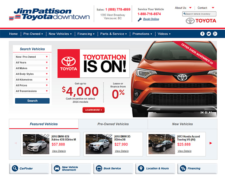 100+ Best Car Dealership Website Designs