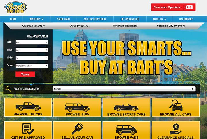 bart car store