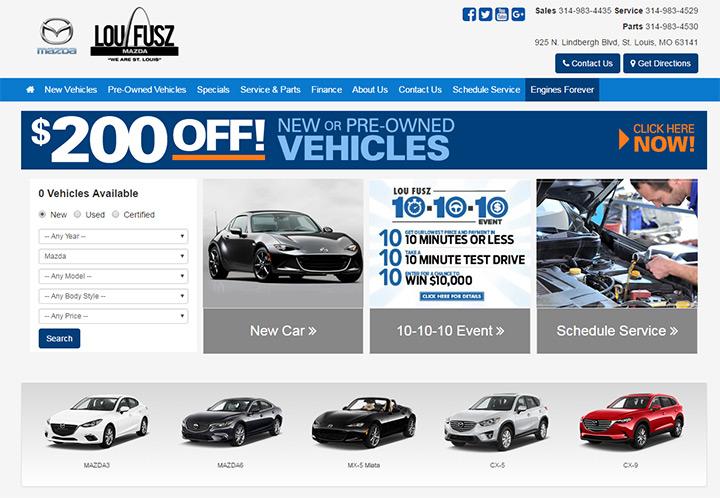 100 best car dealership website designs. Black Bedroom Furniture Sets. Home Design Ideas