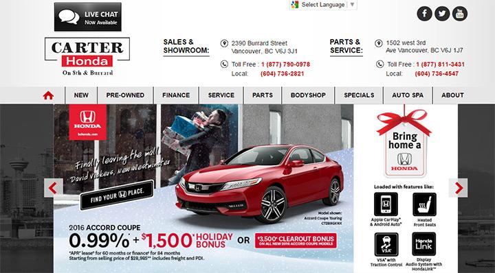 100 Best Car Dealership Website Designs