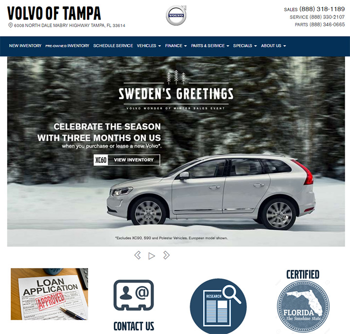volvo of tampa