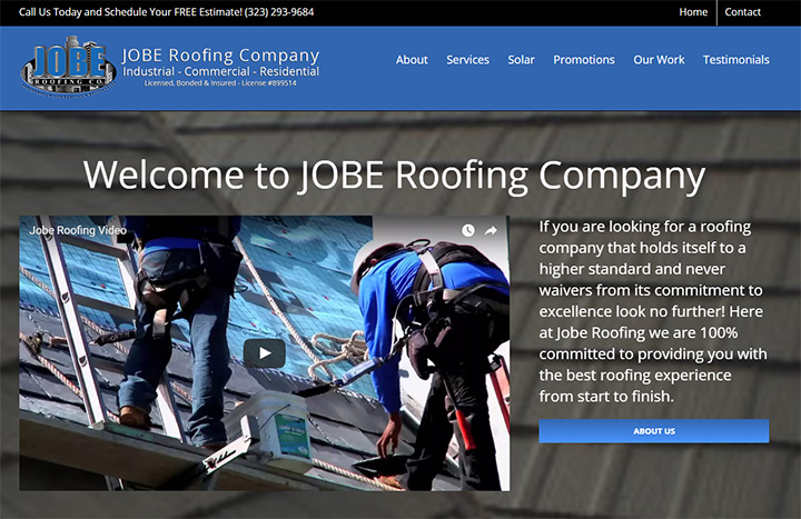 jobe roofing