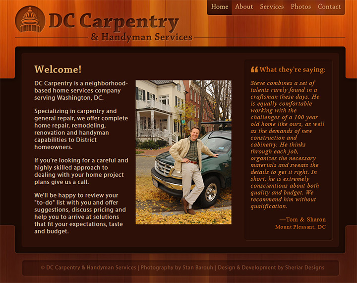 dc carpentry