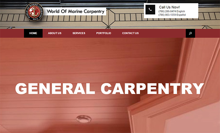 world of marine carpentry