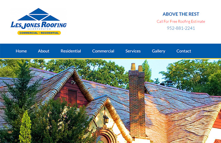 les jones roofing