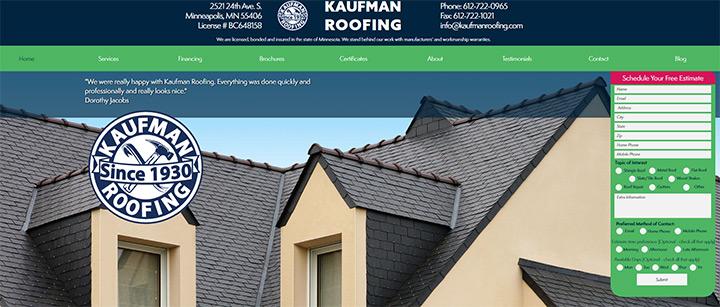 kaufman roofing