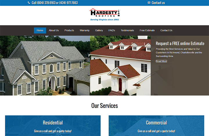hardesty roofing