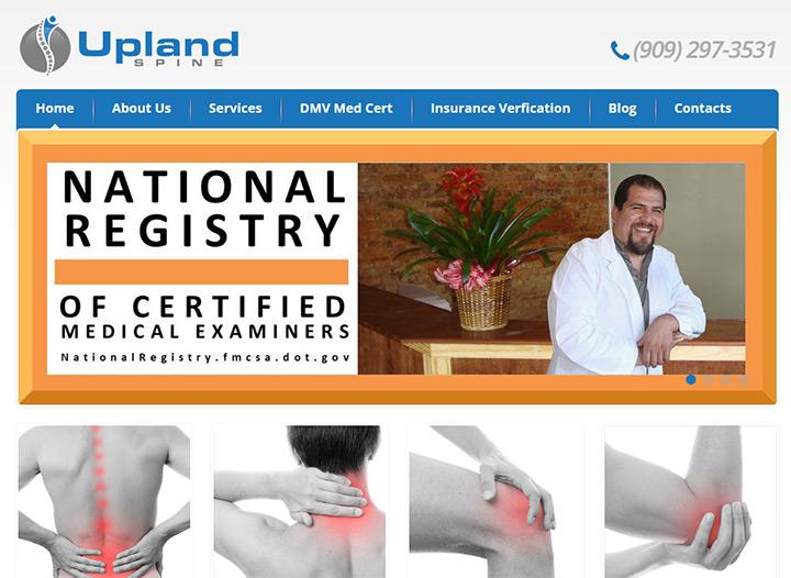 upland spine