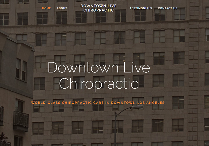 downtown live chiropractic
