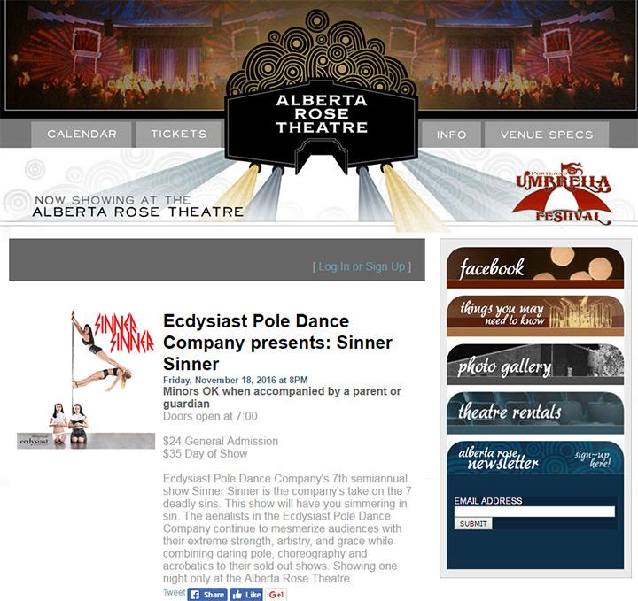 alberta rose theatre