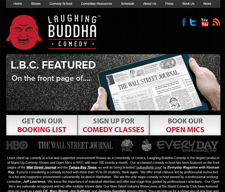 laughing buddha comedy
