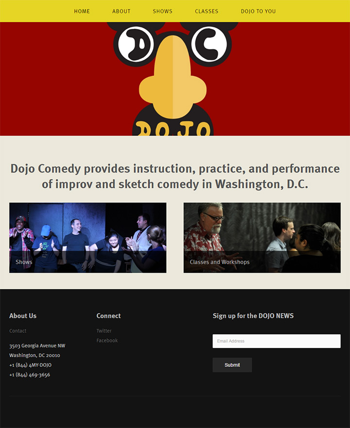 dojo comedy