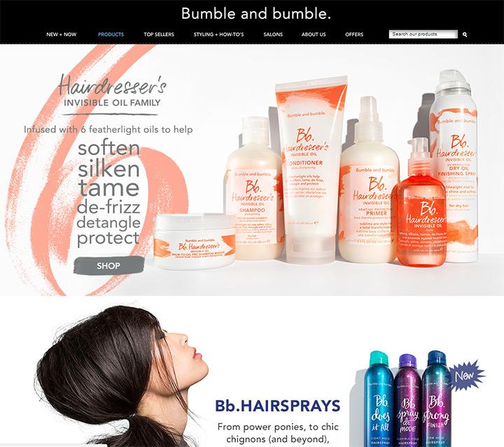 bumble cosmetics