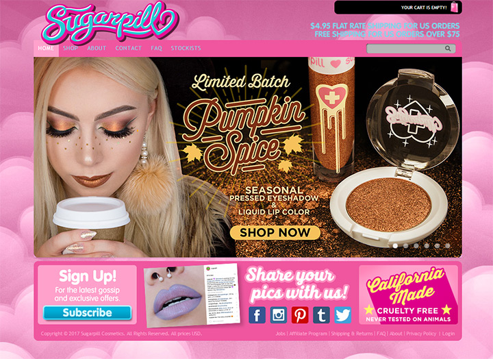 sugar pill cosmetics