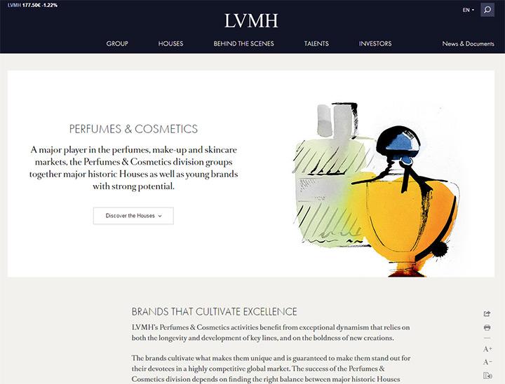 lvmh cosmetics